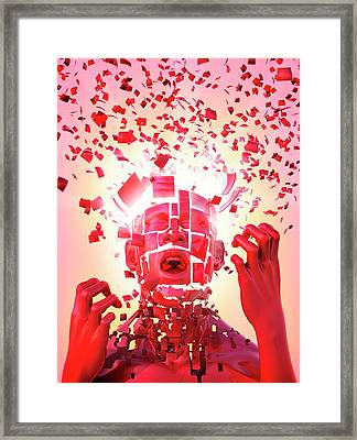 Nervous Breakdown Framed Print by Tim Vernon