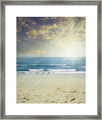 New Day Framed Print by Les Cunliffe
