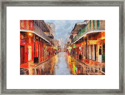New Orleans Framed Print by George Rossidis