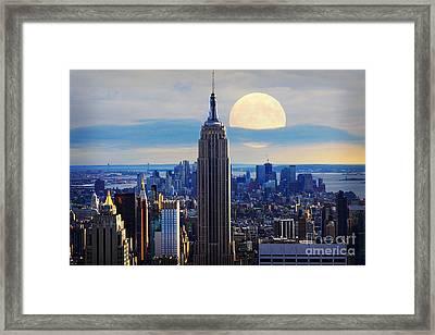 New York City Framed Print by Celestial Images