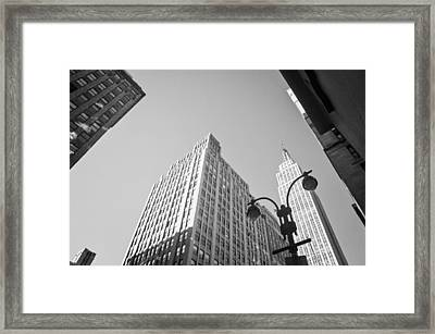 New York City Framed Print by Ilker Goksen