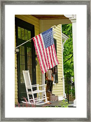 New York, Cooperstown Framed Print by Cindy Miller Hopkins