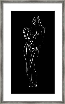 Nice Curves Framed Print by Steve K