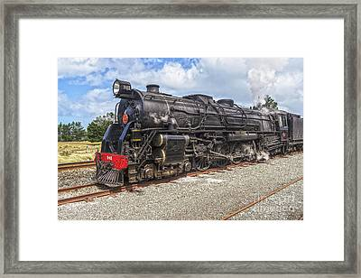 Nigel Bruce Locomotive New Zealand Framed Print by Colin and Linda McKie