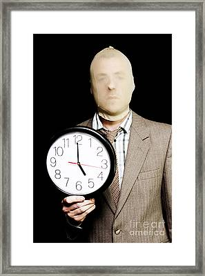 Night Time Is Prime Time For Crime Time Framed Print by Jorgo Photography - Wall Art Gallery