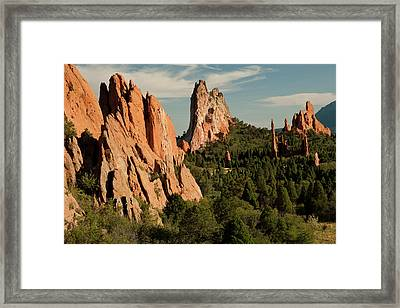 North America, Usa, Colorado Springs Framed Print by Patrick J. Wall