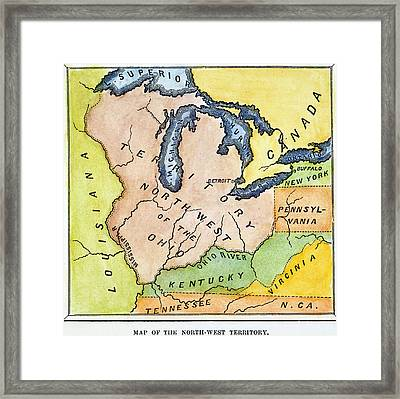 Northwest Territory, 1787 Framed Print by Granger