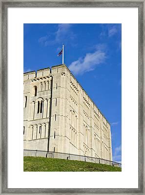 Norwich Castle Framed Print by Tom Gowanlock