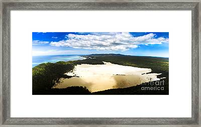 Oasis In Tropical Paradise Framed Print by Jorgo Photography - Wall Art Gallery