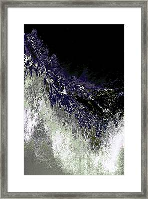 Ocean Series 35 Framed Print by Franco Timitilli