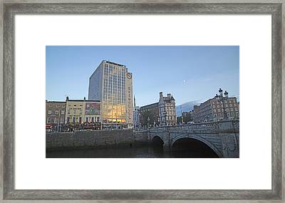 O'connell Bridge Dublin Ireland Framed Print by Betsy C Knapp