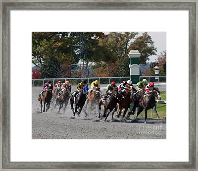 October Tradition Framed Print by Roger Potts