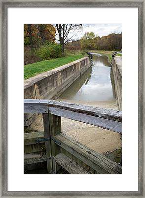 Ohio And Erie Canal Framed Print by Jim West