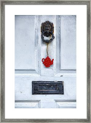 Old Door Framed Print by Joana Kruse