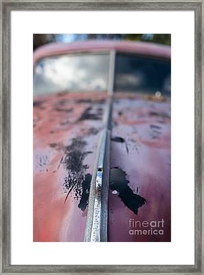 Old Junker Car  Framed Print by Edward Fielding