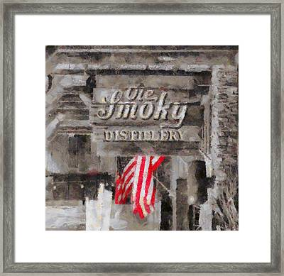 Ole Smoky Distillery Framed Print by Dan Sproul