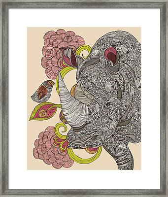 Olive And Hank Framed Print by Valentina Ramos