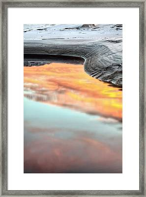 Orange Beach Framed Print by JC Findley