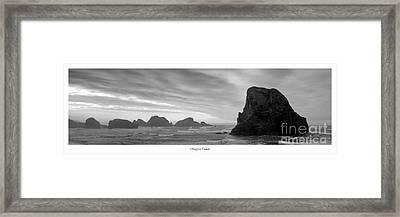 Oregon Coast Framed Print by Twenty Two North Photography