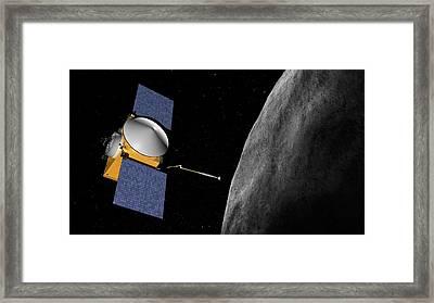 Osiris-rex Asteroid Mission Framed Print by Nasa/goddard/university Of Arizona