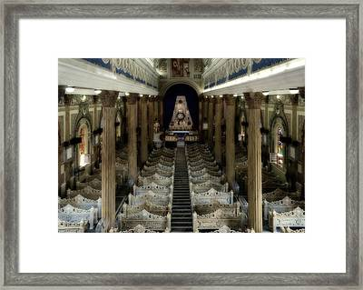 Our Lady Of The Rosary Basilica Framed Print by Mountain Dreams