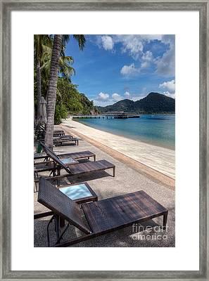 Pangkor Laut Framed Print by Adrian Evans