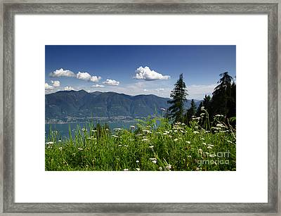 Panoramic View Framed Print by Mats Silvan