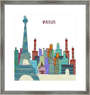 Paris Framed Print by Bri B