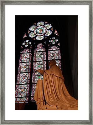 Paris France - Notre Dame De Paris - 011312 Framed Print by DC Photographer