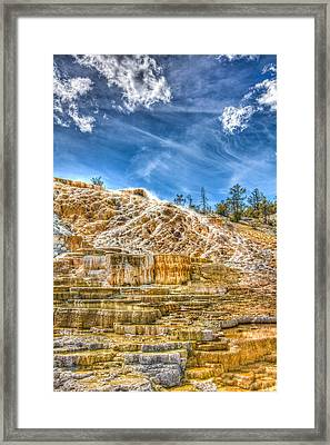 Passing Clouds Framed Print by Jeff Donald