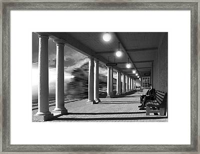 Passing Through Framed Print by Mike McGlothlen
