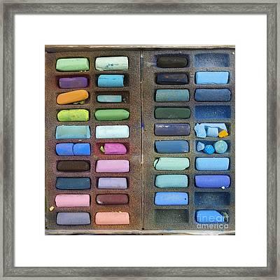 Pastels Framed Print by Bernard Jaubert