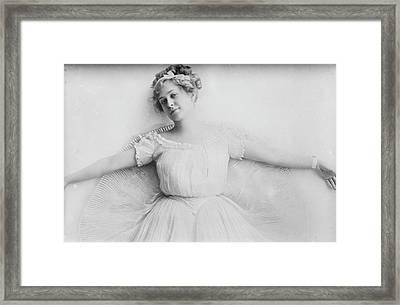Pauline Chase (1885-1962) Framed Print by Granger