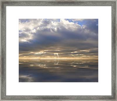Peace Framed Print by Matthew Gibson