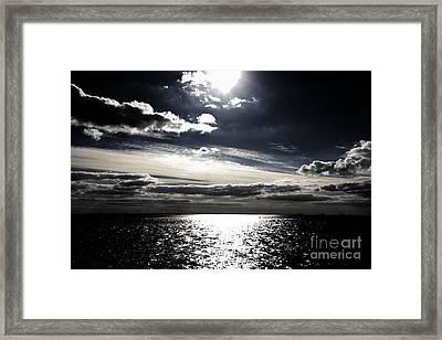 Peaceful Evening Framed Print by Four Hands Art