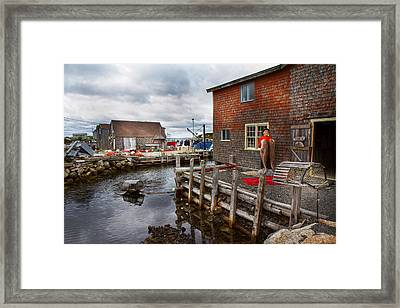 Peggy's Cove 22 Framed Print by Betsy Knapp