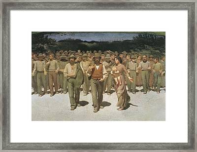 Pellizza Da Volpedo, Giuseppe Framed Print by Everett