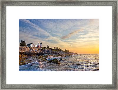 Pemaquid Framed Print by Benjamin Williamson