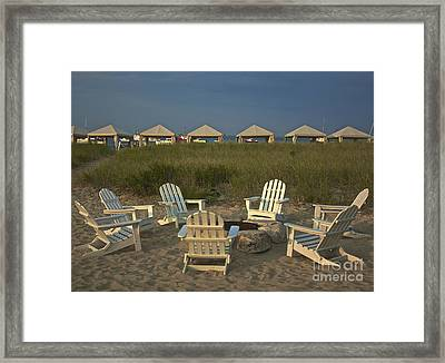 Perfect Ending Framed Print by Amazing Jules