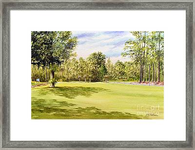 Perry Golf Course Florida Framed Print by Bill Holkham