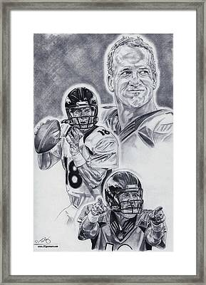 Peyton Manning Framed Print by Jonathan Tooley