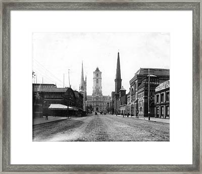 Philadelphia City Hall Framed Print by Granger