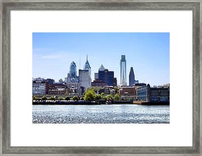 Philadelphia Framed Print by Olivier Le Queinec