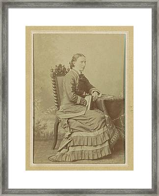 Photo Album Of A Dutch Family With 168 Cartes-de-visite Framed Print by Artokoloro