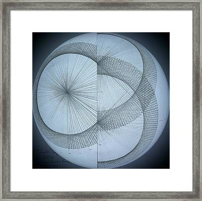 Photon Double Slit Test Framed Print by Jason Padgett