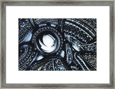 Piano Framed Print by James Christopher Hill
