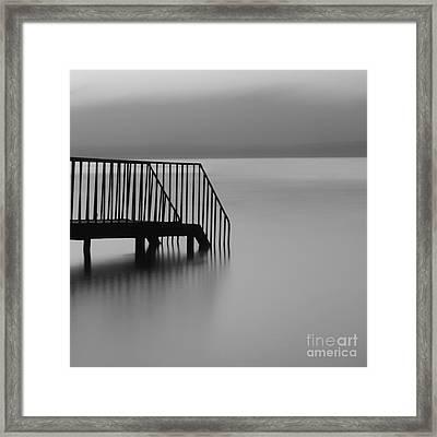 Pier Framed Print by Talip Kaya