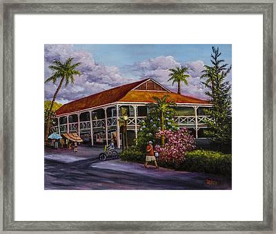 Pioneer Inn Lahaina Framed Print by Darice Machel McGuire