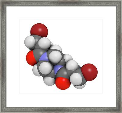 Pipobroman Cancer Chemotherapy Drug Framed Print by Molekuul