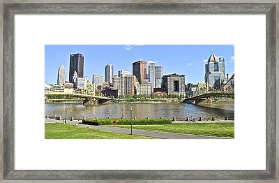 Pittsburgh Pa Framed Print by Frozen in Time Fine Art Photography